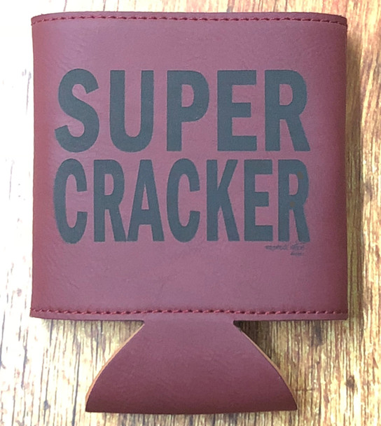 Super Cracker Leather Drink Cooler MMLK-12