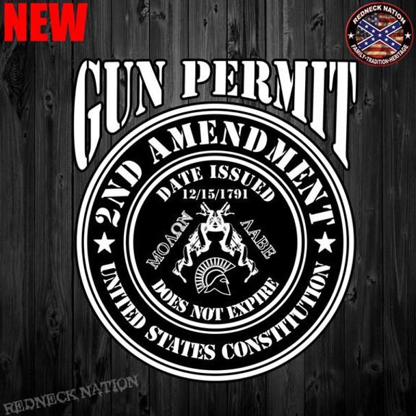 Gun Permit 2ND Amendment