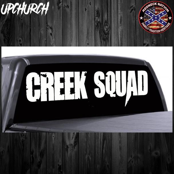 Upchurch© Creek Squad Rear Window RNRW-3