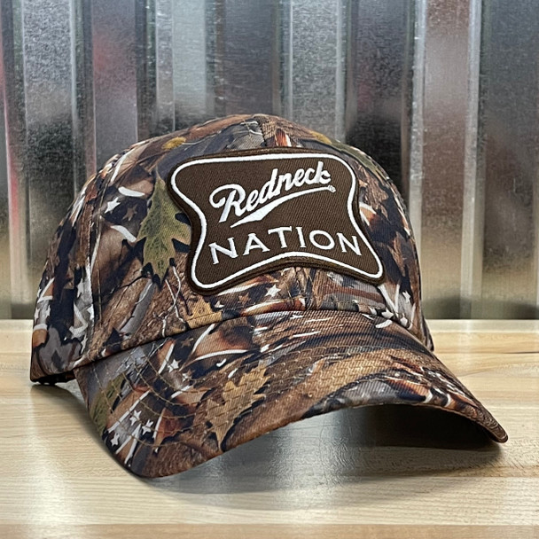 Redneck Nation© Confederate Camo© HL Logo Hat