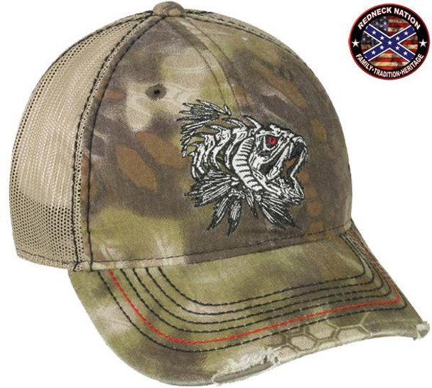 Redneck Nation© Kryptek Highlander™ / Tan Fishing hat-11