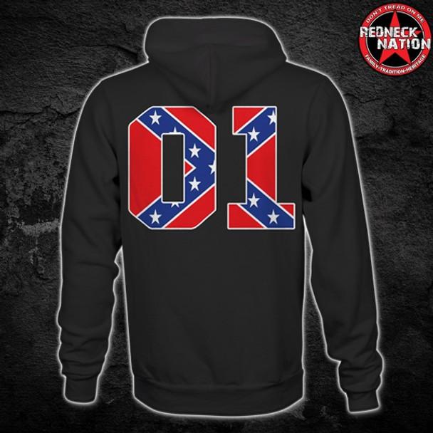 Redneck Nation© 01 Confederate Hoodie RNH-37