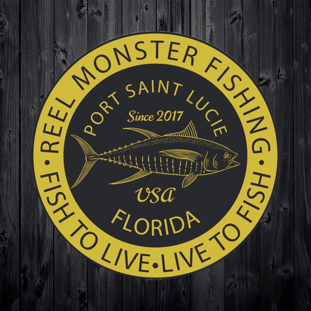 Reel Monster Yellow Tuna