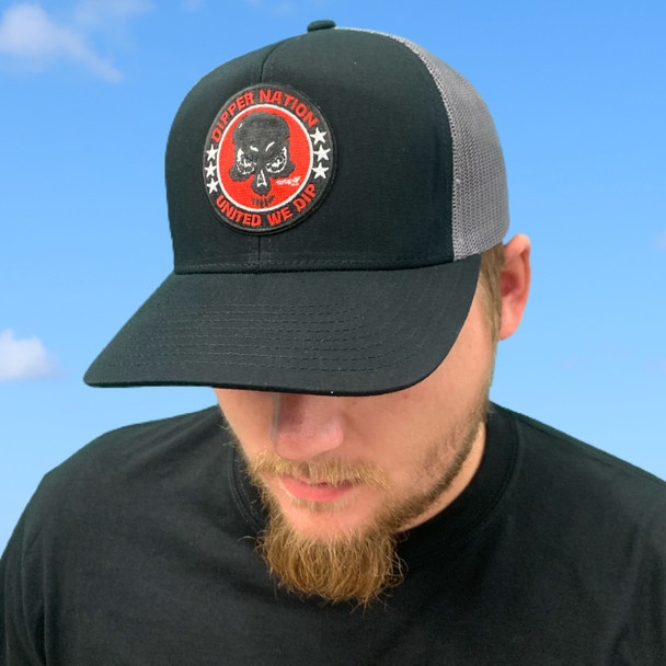 Dipper Nation Black/Grey Hat DNH-1