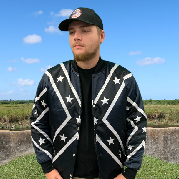 Redneck Nation© Southern Stealth Bomber Jacket