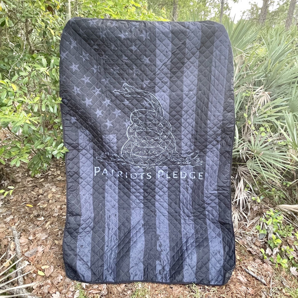 Black Flag Patriots Pledge Blanket