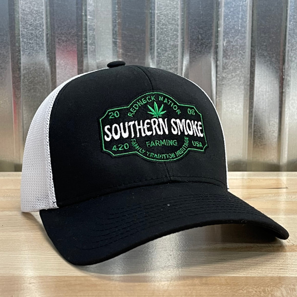 Redneck Nation© Southern Smoke Embroidered Hat