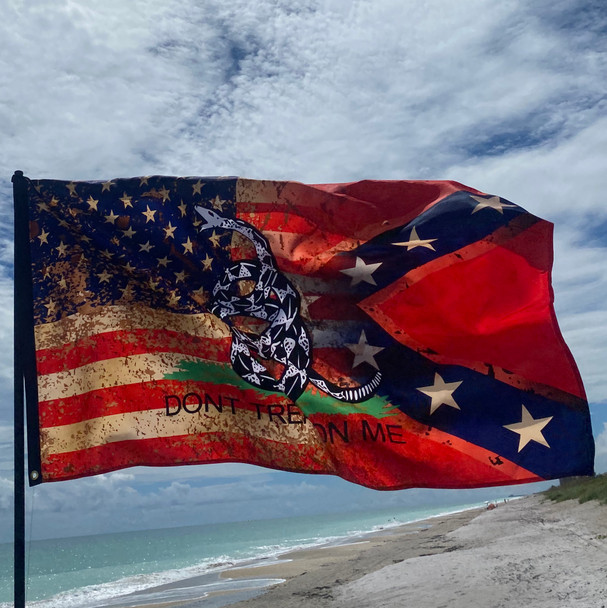 Trifecta Redneck Nation© Flag
