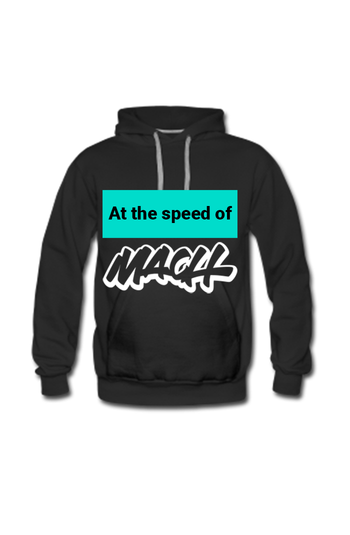 Picture of At the speed of MACH Hoodie