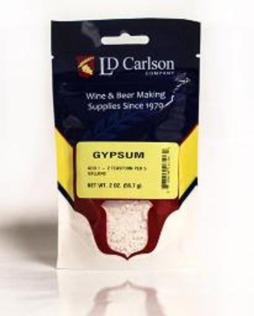 Gypsum - 2 Oz., Yeast, Brewing Malt