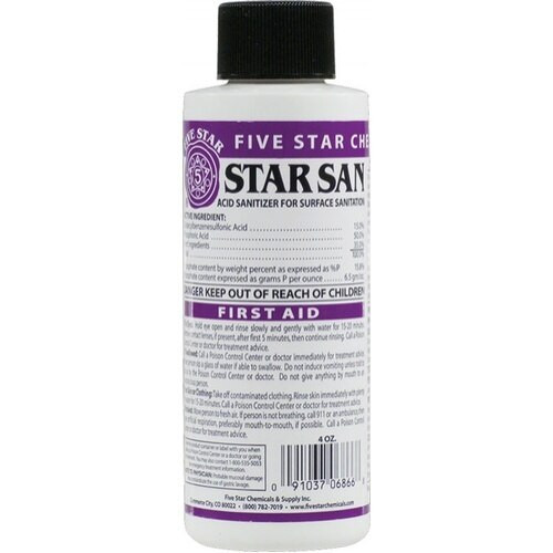 Star San, Sanitizer, Yeast