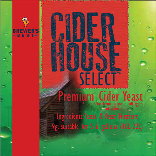 Ciderhouse Select Dry Cider Yeast, Yeast, Brewing Malt