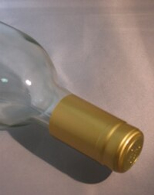 Gold PVC Shrink Capsule - 30 count, Yeast, Brewing Malt