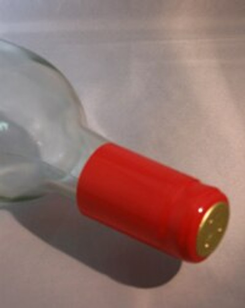 Red PVC Shrink Capsule - 30 count, Yeast, Brewing Malt