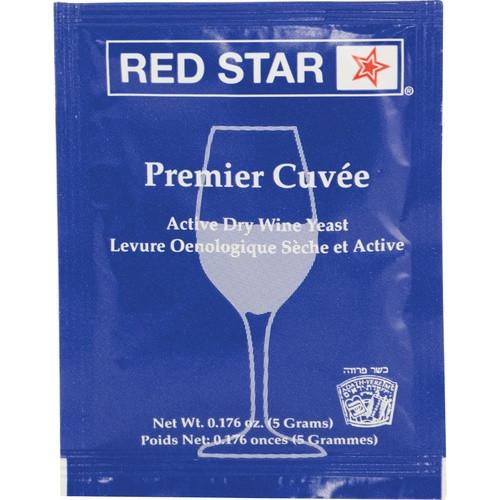Wine Yeast Red Star Premier Cuvee, Champagne Yeast, Dry Yeast