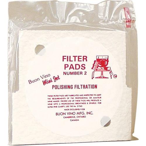 Filter Pads - Mini Jet #2, Yeast, Brewing Malt
