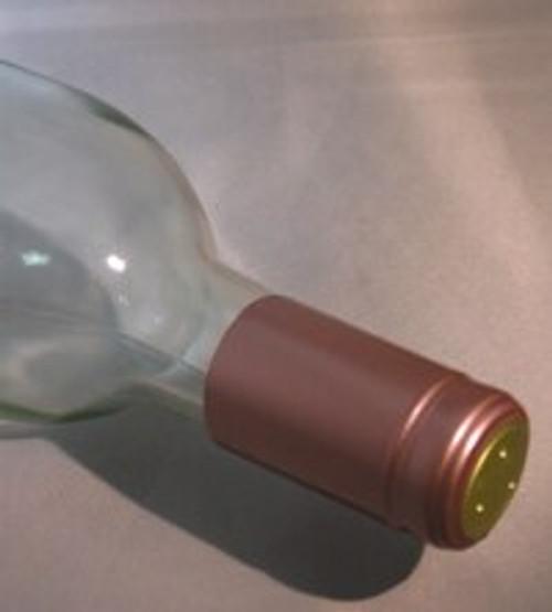 Dusty Rose PVC Shrink Capsule - 30 count, Yeast, Brewing Malt