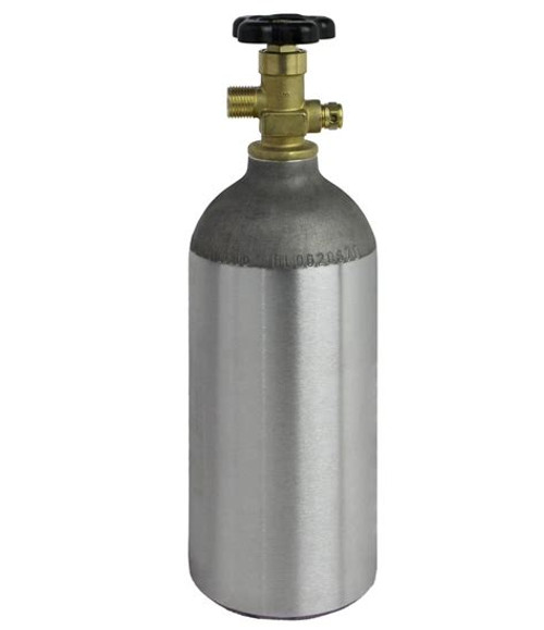 CO2 Tank - Used W/Gas, Yeast, Brewing Malt