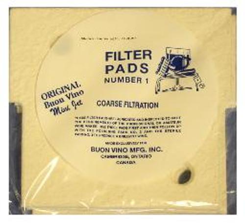Mini-jet Filters 1, Yeast, Brewing Malt