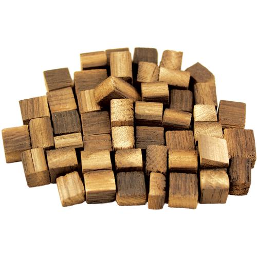 French Oak Cubes - Heavy Toast 2 Oz, Yeast, Brewing Malt