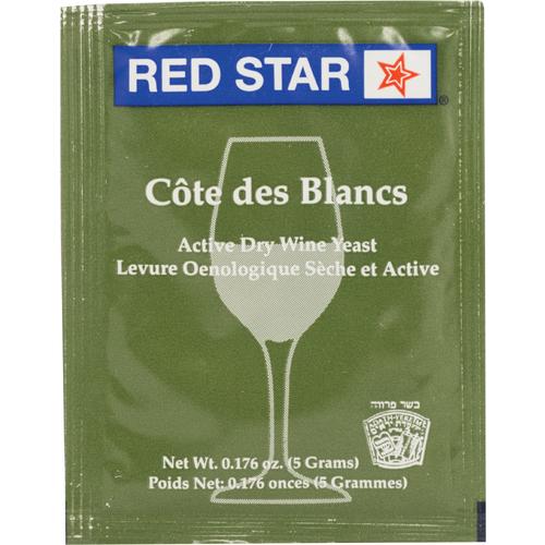 Wine Yeast Red Star Cote Des Blanc, Champagne Yeast, Dry Yeast