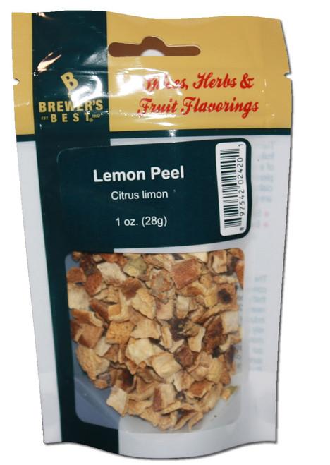 Brewers Best Lemon Peel, Lemon Peel, Yeast