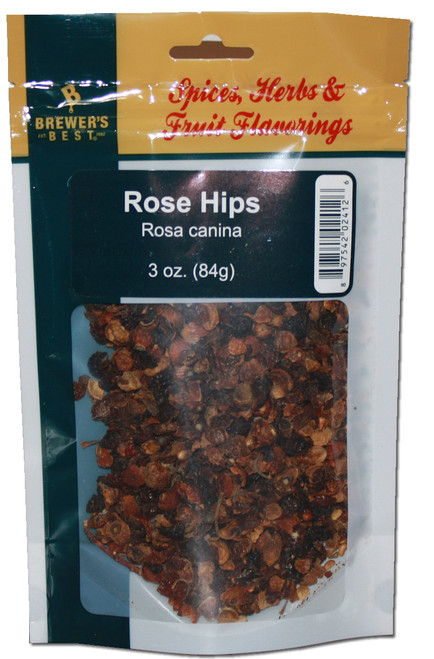 Brewers Best Rose Hips, Rose Hips, Yeast