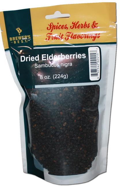 Brewers Best Dried Elderberries, Elderberries, Yeast