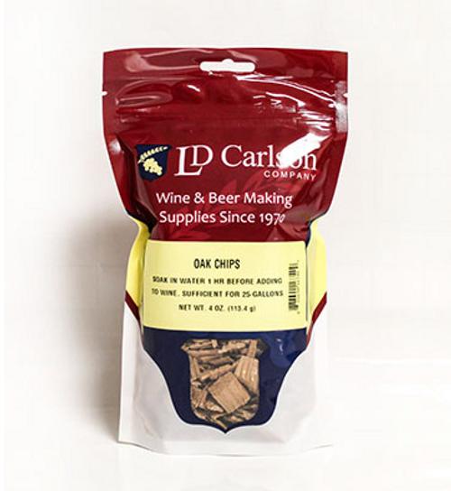 American Oak Chips - 4 Oz., Yeast, Brewing Malt