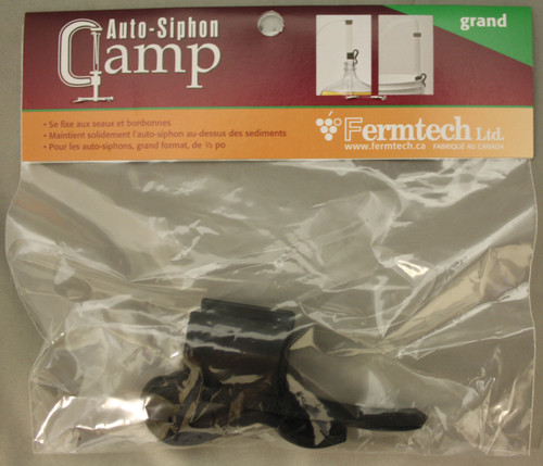 """Auto-Siphon Clamp - 1/2"""" Auto Siphons, Yeast, Brewing Malt"""