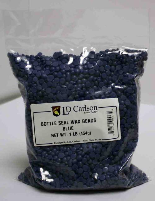 Blue Bottle Seal Wax Beads 1lb, Yeast, Brewing Malt