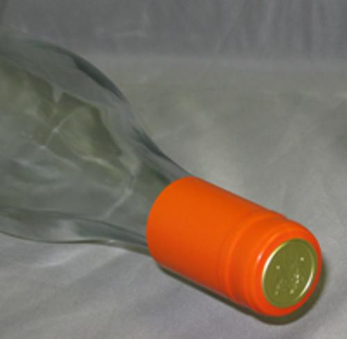 Orange PVC Shrink Capsule - 30 count, Yeast, Brewing Malt