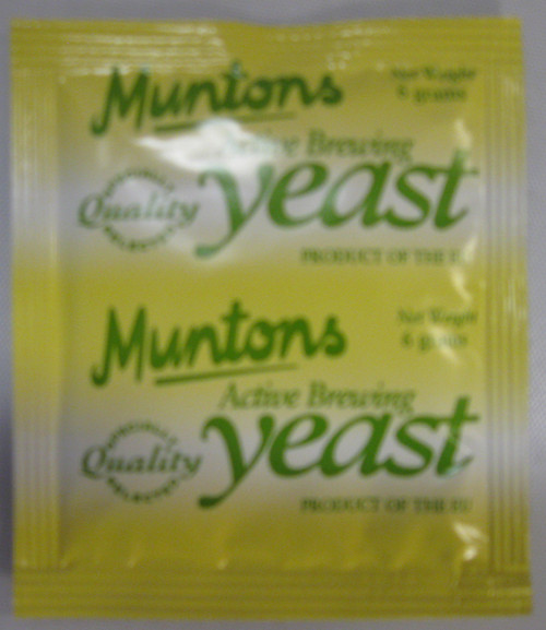 Muntons, Ale Yeast, Brewing Yeast