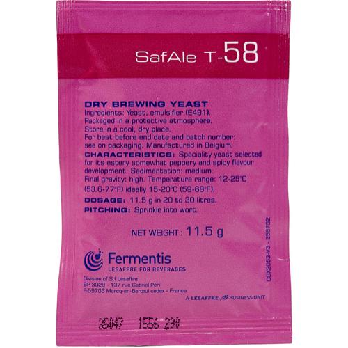 Fermentis, T-58, Ale Yeast