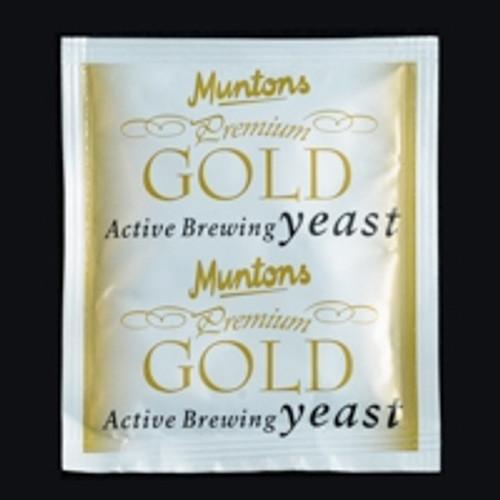 MUNTONS PREMIUM GOLD YEAST 6 GRAMS, Yeast, Brewing Malt