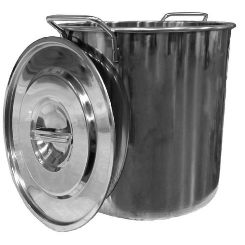 5 Gallon Stainless Steel Kettle, Yeast, Brewing Malt