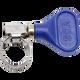 Blue half inch easy turn hose clamp, Hose Clamp