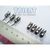 Miniature universal joint, mini cardan joint coupler. High precision, for small shaft diameter use