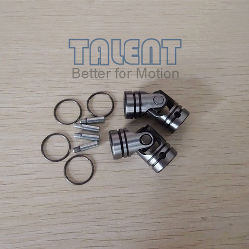 01W universal joint, shaft bore 6x6, set pin attachment