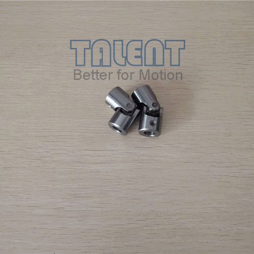 Advantages of G universal joint: Partial Quenched, hub can be machined 1.Hub can be machined because they are partial quenched. 2.Good materials & precision machining. 3.Very low backlash & long service life. 4.set screw for fixing, easy installation.