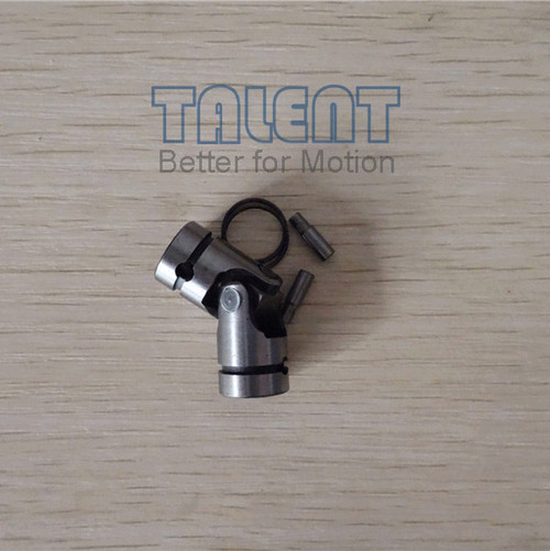 Advantages of W universal joint: Entirely Quenched, Anti-wear Use 1.In order to increase the fatigue strength, parts are entirely quenched. 2.Parts cannot be machined because they are entirely quenched. 3.Use a boot and oil pack to extend the life of joint. 4.A strong-pin and circlip is attached for fixing.