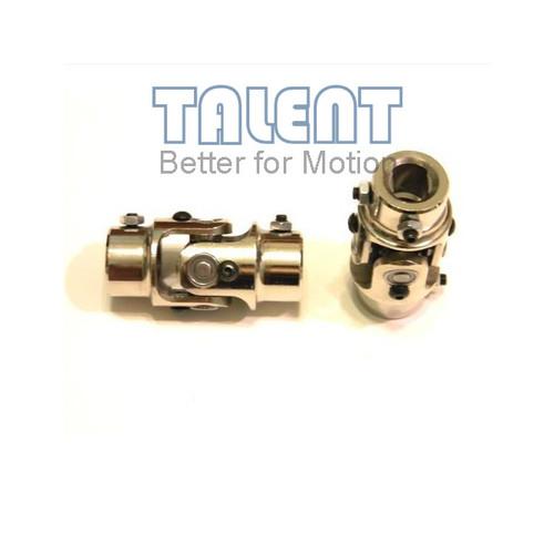 Steering  joint coupler, Steering U-Joints,Rollor bearing cardan Joint, nickel plating, 4/3DDX3/4DD