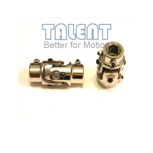Steering  joint coupler, Steering U-Joints,Rollor bearing cardan Joint, nickel plating, 4/3DDX3/4DD
