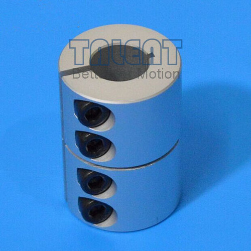 Rigid coupling is a precision coupling for CNC router, stepper motor, screw rod, XY stage, etc.