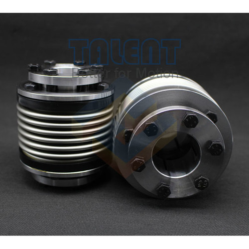 Bellows coupling, servo coupling, stainless steel bellows coupling,are suitable for CNC tool, servo motor, stepper motor, screw rods, etc.