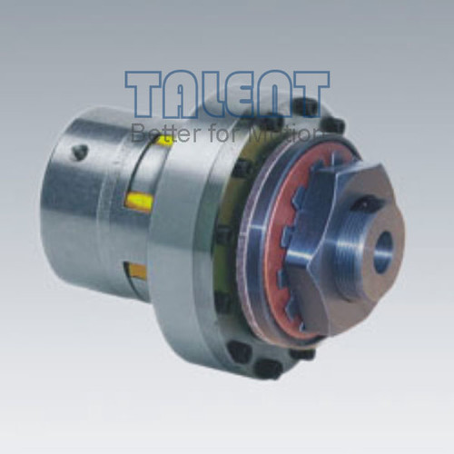 Friction torque limiter jaw coupling is a kind of overload safety protecting coupling, used for limiting the torque in the shaft to shaft connection transmission system by sliding when the torque excesses the pre-set value in sudden loading,over-loading or power off, to protect the equipment. Once the over-loading disappears, the device will be back to normal automation without any adjusting or setting.