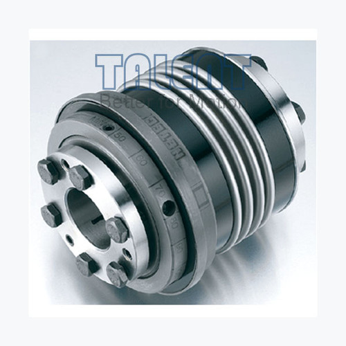 Ball detent torque limiter with  bellows coupling is a kind of safety coupling, used for instantly cut off input and output in the shaft to shaft connection transmission system when an overload occurs, protecting machinery.