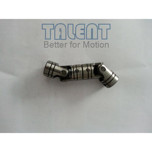 01WDD double universal joint is a precision double cardan joint coupling, which is tailored to your specific application requirements, compensates for both parallel misalignment and shaft separation.