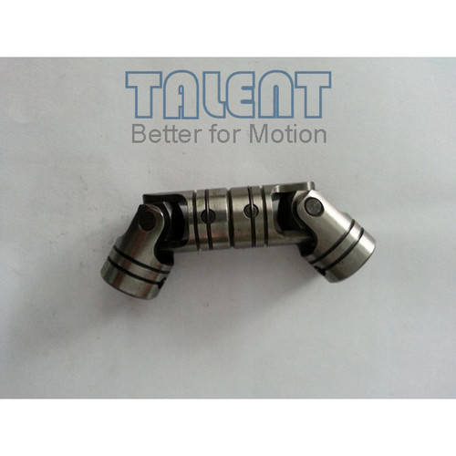 02WDD double universal joint is a precision double cardan joint coupling, which is tailored to your specific application requirements, compensates for both parallel misalignment and shaft separation.