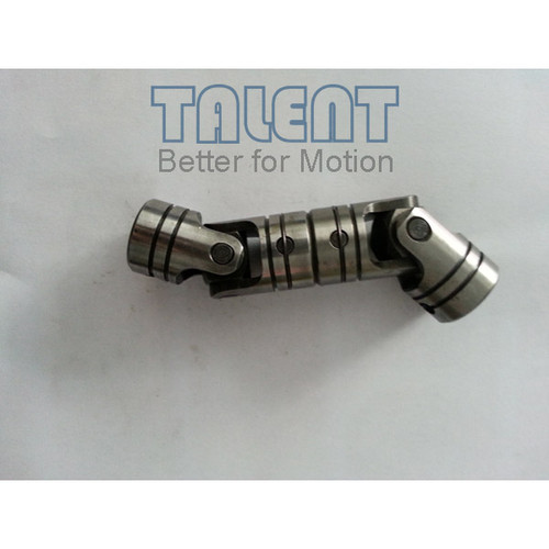 04WDD double universal joint is a precision double cardan joint coupling, which is tailored to your specific application requirements, compensates for both parallel misalignment and shaft separation.
